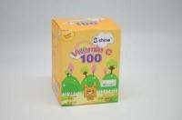 SHINE VITAMIN C 100MG CHEWABLE TABLET ORANGE 100S