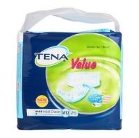 Tena Value Adult Diaper Medium 12s