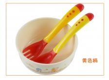 Baby Soft head Heat Sensing Spoon & Fork
