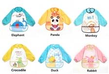 Waterproof anti-dressed baby bibs
