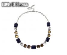 Color Geometric Short Necklace