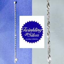 Fine 925 silver Anklet ( A 055SPOH )