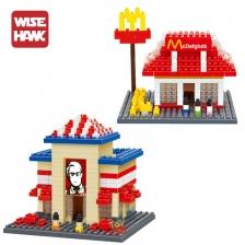 Wise Hawk - City Builder Bundle Set (KEC & McD Restaurant)