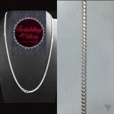 Fine 925 Silver Chain ( C 07TNEW65 )