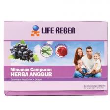 Liquid Nutrition Life Regen Quantum Nutridrink + Grape