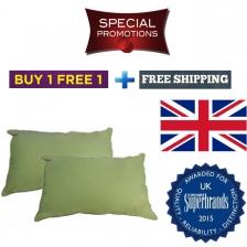 Buy 1 Free 1 + Free Shipping! Silentnight (UK No1 brand) cotton pillow