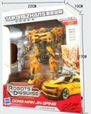 KUDEA Robot Transformers – Bumblebee 2 in 1