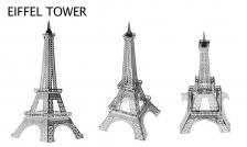 3d Architecture Metalic Nano (Eiffel Tower)