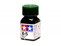 Tamiya Color Enamel Paint X-05 Green (10ML)