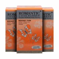 3 Boxes Romantic Love Rubber Rocket Type - 12's