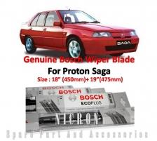 (Promotion) Proton Saga Iswara (Size:18+19) Genuine Bosch Wiper Blade [ 1 pair ]