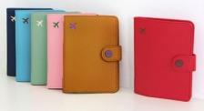 Korean DonBook Passport Holder Case Short Travel Organizer New