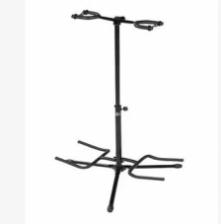 Double Guitar Stand Detachable Folding Adjustable Acoustic Electric