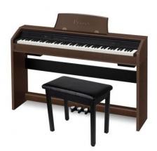 Casio Privia PX 750 BN Brown Digital piano 88 key AiR FREE Chair