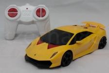 DX 1:24 Lamborghini Sesto Elemento Yellow Remote Control Car NEW GIFT