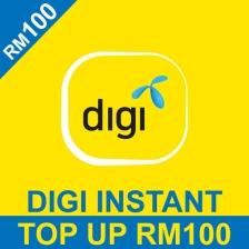 Digi RM 100 Prepaid Reload