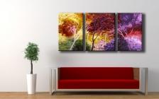 100% Handmade Oil Paintings On Canvas
