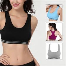 Women's Seamless Padded Sports Bra Fitness Workout Gym Yoga Bra
