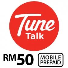TUNE TALK Prepaid Reload RM50