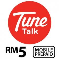 TUNE TALK Prepaid Reload RM5