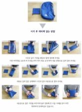 Korean Style 3 Way Foldable Waterproof Multifunction Bag