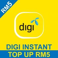 Digi RM 5 Prepaid Reload