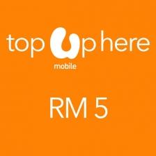 U Mobile RM 5 Prepaid Reload
