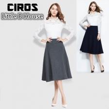 Woolen High Waist Skirts -1326