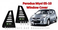 Rear Side Window Cover For Perodua Myvi 05-10 (1 set)