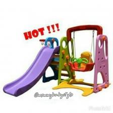 Taman Mini. Swing and slide
