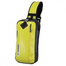 Komine Motorcycle SA217 Waterproof 8 litter Shoulder Bag in Yellow Colour