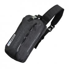 Komine Motorcycle SA217 Waterproof 8 litre Shoulder Bag in Black Colour