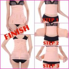 Eqmumbaby enhanced abdomen belt postpartum corset / Bengkung Zap On / Bengkung 1 Step/ Corset 1 step