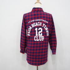 [PM-1981-6805] Stylish Women Fashion Checker Top As Picture