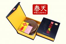 祈福神州西藏慧香24小时盘香8单环藏香天然中药养生香佛香薰
