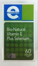 Eurobio Bio-Natural Vitamin E Plus Selenium 60's