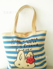 Fashion Canvas Large Foldable Tote Shopping Shoulder School Bag