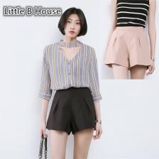 Loose Wide Leg Short Pants -K6253