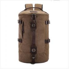 Large Canvas Travel Hiking Camping Laptop Backpack Rucksack