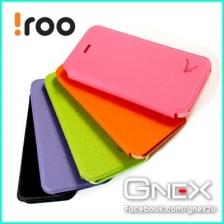 iROO Apple iPhone 5S 5 SE Ultra Slim Stylish Color Leather Case