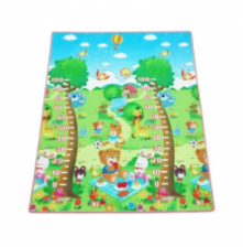 200*180*1.0cm Double Side High Quality XPE Premium Height Measuring Play Mat - Anti-slip/Eco-friendly/XPE-Foam / Wellbing series playmat