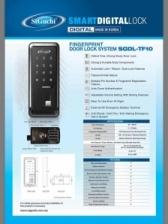 ST GUCHI FINGERPRINT DOOR LOCK SYSTEM SGDL-TF-10