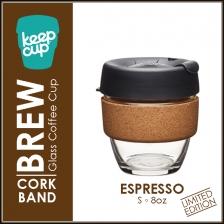 KEEPCUP Glass Coffee Cup - Brew Cork Series (16oz)