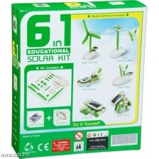 Kids Station 6 in 1 Educational Solar Robot Kits