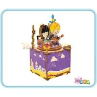 "Wooden Toy - DIY Wooden Music Box ""Summer Love Song"""