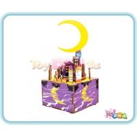 "Wooden Toy - DIY Wooden Music Box ""Midsummer Night's Dream"""