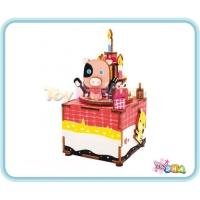 "Wooden Toy - DIY Wooden Music Box ""Happy Birthday"""