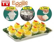 Eggies for Perfect Hardboiled Eggs FREE Egg Seperator