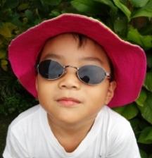 Handmade Sun Hat for kids (age 3-6)