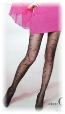 Fashion Pantyhose Best Love Worm-Like Design 10D